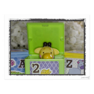 Baby Shower Toys Postcard