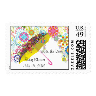 Baby Shower Umbrella  Postage