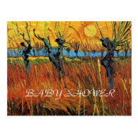 Baby shower, Willows at Sunset Post Cards