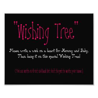Baby Shower Wishing Tree Photo