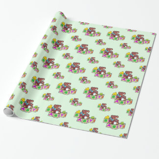 baby shower gift wrapping paper