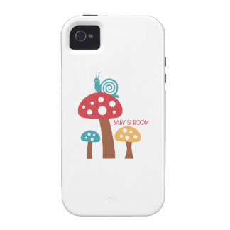 Baby Shroom Case-Mate iPhone 4 Cases
