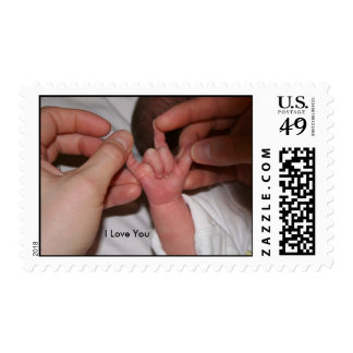 Baby Sign Language - I Love You Postage Stamp