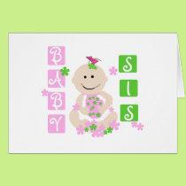 Baby Sis Card