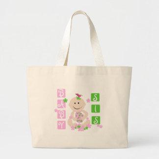 Baby Sis Large Tote Bag