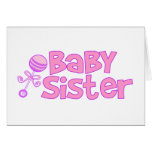 Baby Sister Greeting Cards