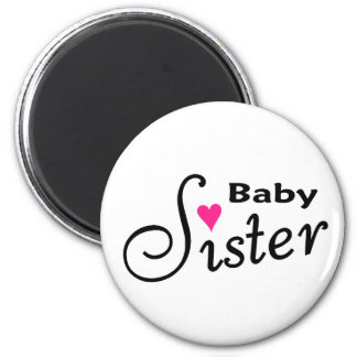 Baby Sister Refrigerator Magnets