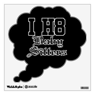 baby sitters wall decal