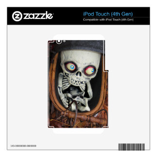 Baby Skeleton Decal For iPod Touch 4G