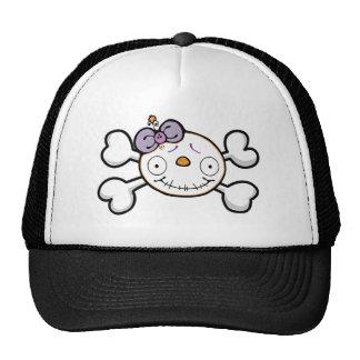 BABY SKELETON TRUCKER HAT