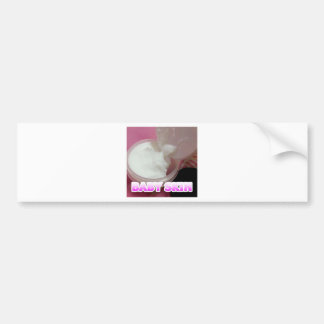 Baby Skin Lotion Bumper Sticker