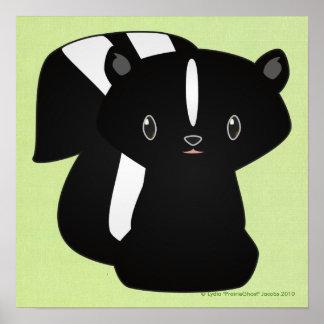 Baby Skunk Print