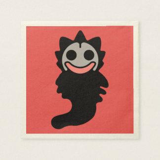 Baby Slappy-Denka Other Dimension Dada Alien Manga Paper Napkin