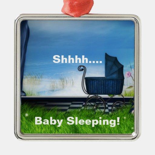 Baby Sleeping Door Hanger Christmas Ornament