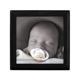 Baby Sleeping Jewelry Box