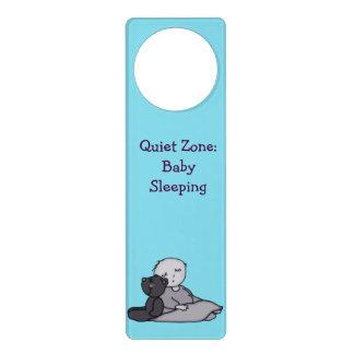 Baby Sleeping - Quiet Zone Door Hanger