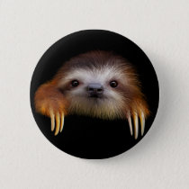 Baby Sloth Button