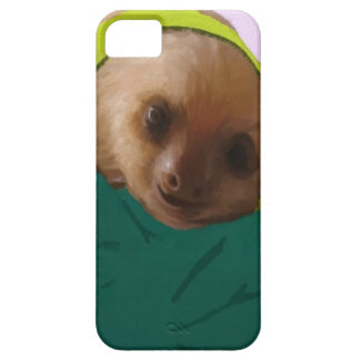 Baby Sloth in Pajamas iPhone SE/5/5s Case
