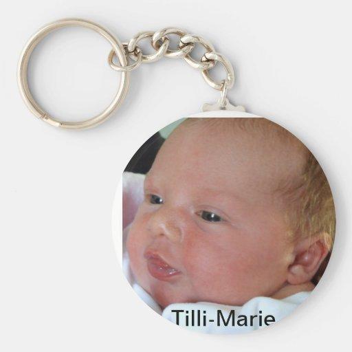 Baby Smile Key Chain