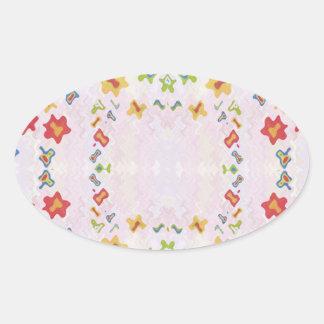 Baby Smiles : DIAMOND Graphics Oval Sticker
