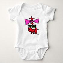baby smirk snapsuit baby bodysuit