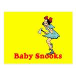 Baby Snooks Customizable Postcard