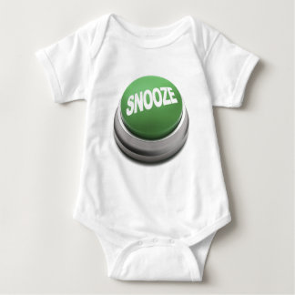 Baby Snooze Button Baby Bodysuit