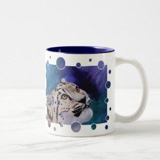 Baby Snow Leopard Bubbles Mug