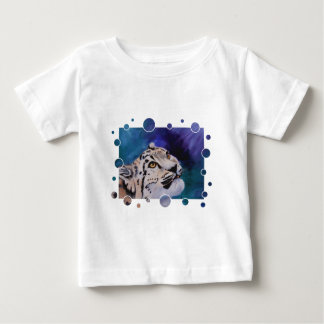 Baby Snow Leopard Bubbles Toddler's Tshirt