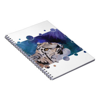 Baby Snow Leopard Notebook