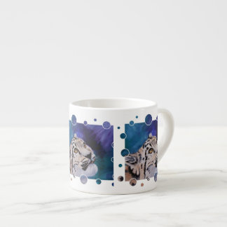 Baby Snow Leopard Specialty Mug Espresso Cup