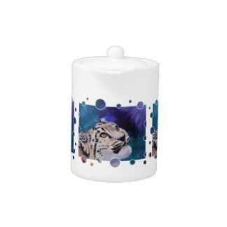 Baby Snow Leopard Tea Pot