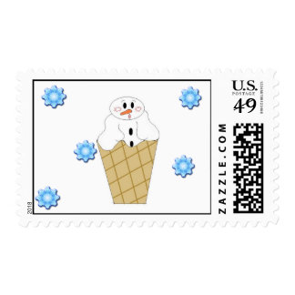 Baby Snowcone Postage Stamp