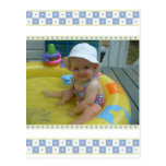 Baby Snower Thank You Postcards