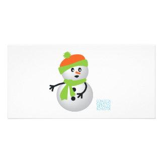 Baby Snowman Card