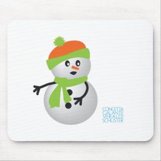 Baby Snowman Mousepads
