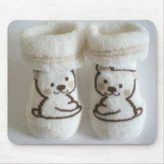 Baby Socks Mouse Pad