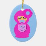 Baby Sofia Babushka Ornament