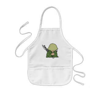 Baby Soldier Kids' Apron