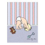 Baby Somersault Postcard