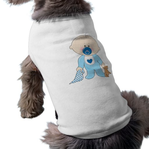 Baby Soother Boy Pet Tshirt