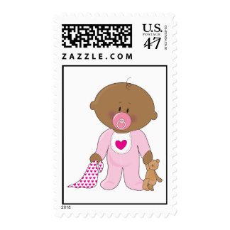 Baby Soother Girl Postage
