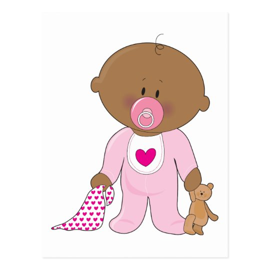 Baby Soother Girl Postcard