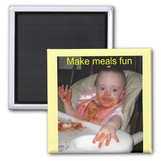 Baby Spaghetti Fun Magnet