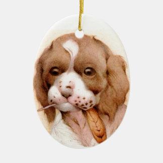 Baby Spaniel - SUPER CUTE ! Ceramic Ornament