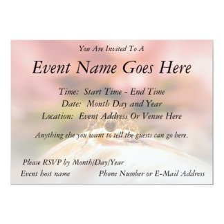 """Baby Spider's First Day 5"""" X 7"""" Invitation Card"""