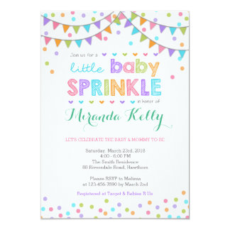 Baby Sprinkle Invitations Amp Announcements Zazzle