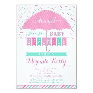 Baby Sprinkle Invitation / Umbrella Invitation