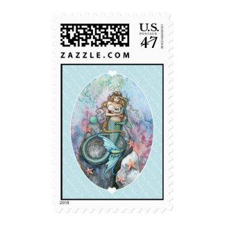 Baby Sprinkle Meramid Postage Stamps