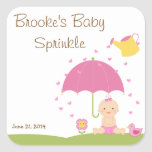Baby Sprinkle Shower Favor Tag Stickers